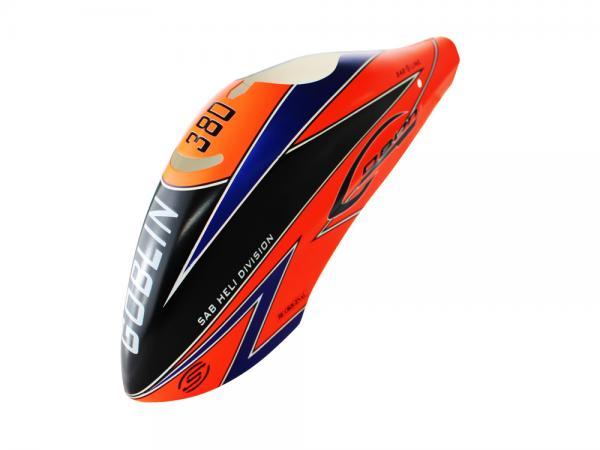 SAB Goblin 380 Sport Airbrush Kabinenhaube orange
