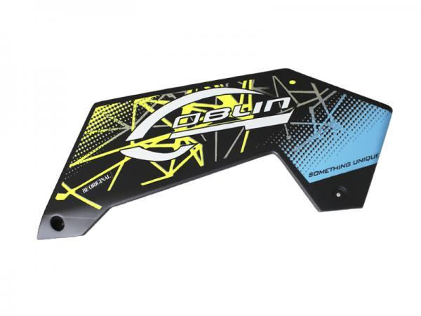 SAB Goblin Kraken 580 Carbon Linke Seitenverkleidung SX gelb/blau