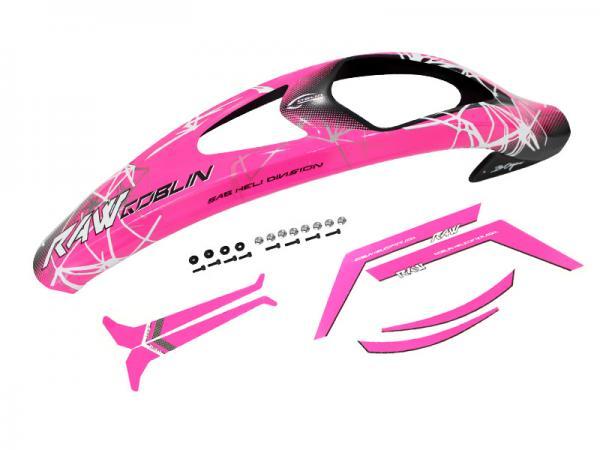 SAB Goblin RAW 700 Haube pink mit Aufkleber