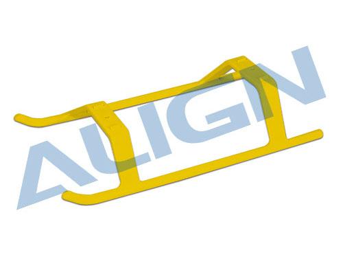 Align T-REX 450 / 470 Landegestell 5° Keilform (gelb)