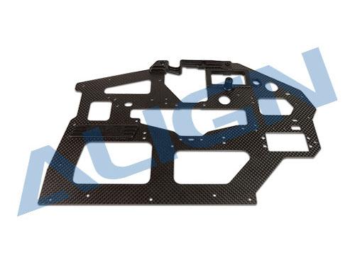 Align T-REX 550L / 550X Carbon Hauptrahmenplatte links