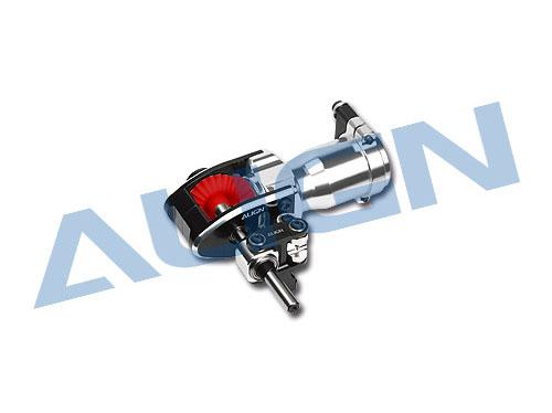 Align T-REX 550 / 600 Heckgehäuse für Starrantrieb CNC Alu