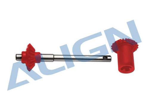 Align T-REX 550 / 600 / 650 Heckrotorwelle