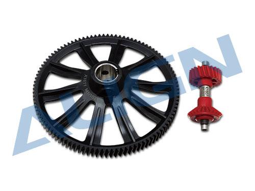 Align T-REX 700E / 760X / 800E Autorotationsgetriebe Set 102 / 23 Zähne