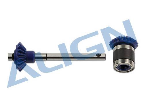 Align T-REX 700E / 700X / 700N / 800 Heckrotorwellen- Set M1,25 19Zähne # H70G014XX