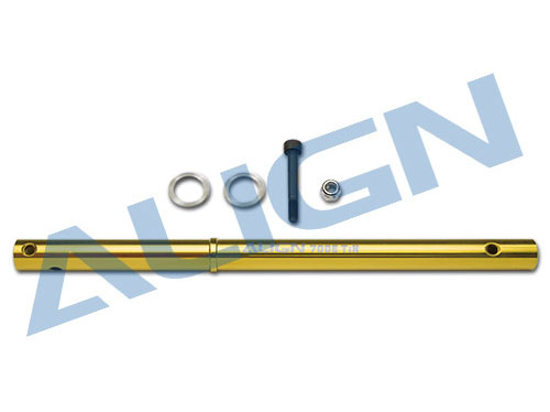 Align T-REX 700E / 700X / 760X Hauptwelle TiN goldfarben # H70H016XX
