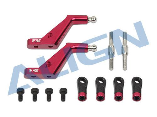 Align T-REX 760X F3C Blatthalterarm CNC Alu rot