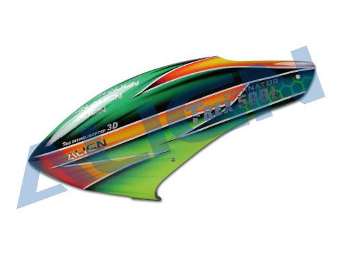 Align 500L Dominator Haube Fiberglas lackiert