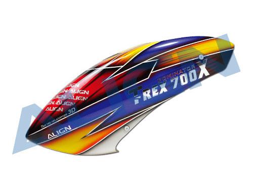 Align T-Rex 700X / 700E / 700DFC /700L Haube Fiberglas Lackiert