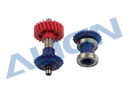Align T-REX 700E / 800E M1/M1,25 Zwischengetriebe Set 23/19T Zähne