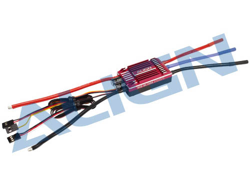 Align RCE-BL100A Brushless Regler 3-6S 10A BEC # HES10001