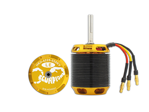 Scorpion HKII-4225-550KV Limited Edition Brushless Motor