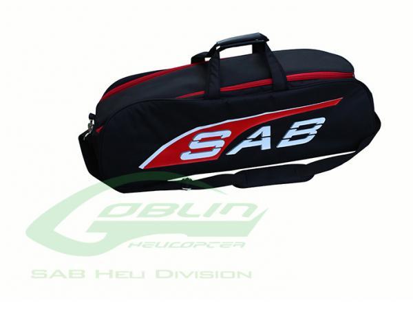Sab GOBLIN FIREBALL / MINI COMET Transporttasche - schwarz/rot