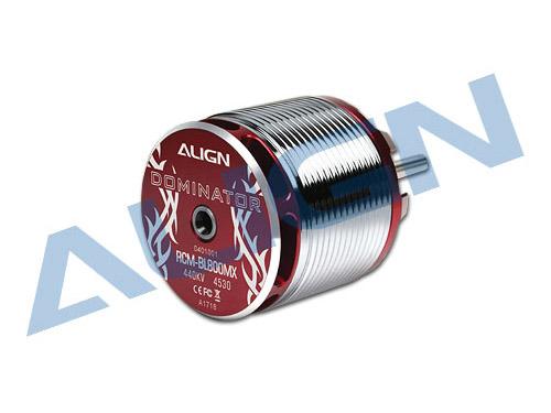 Align Brushless Motor 800MX 440KV 12S / 4530 RCM-BL800MX (37mm Ø6mm Shaft) loose
