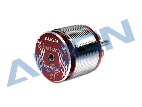 Align Brushless Motor 800MX 720KV 6S / 4530 RCM-BL800MX (37mm Ø6mm Shaft)