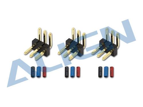 Align T-REX 150 Heckmotor Stecker und Pin Set