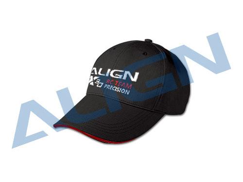 Align Flying Cap - Schwarz 100% Baumwolle