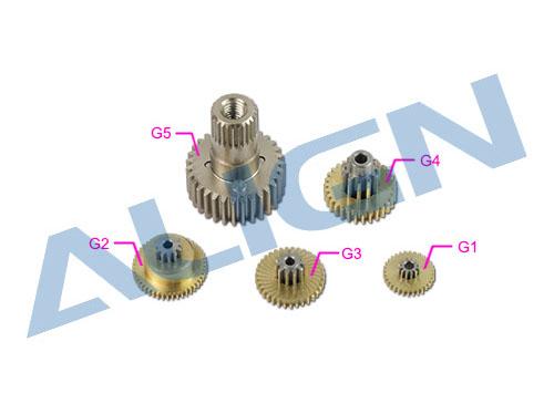 Align DS530 / DS530M Servo Getriebe Set