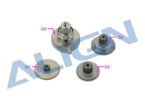 Align DS820 / DS820M Servo Getriebe Set