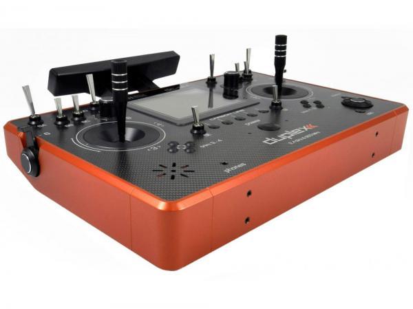 Jeti Pult-Sender DC-24 Carbon Line Dark Orange Multimode 24 Kanal