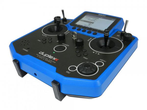 Jeti Hand-Sender DS-12 Multimode blau