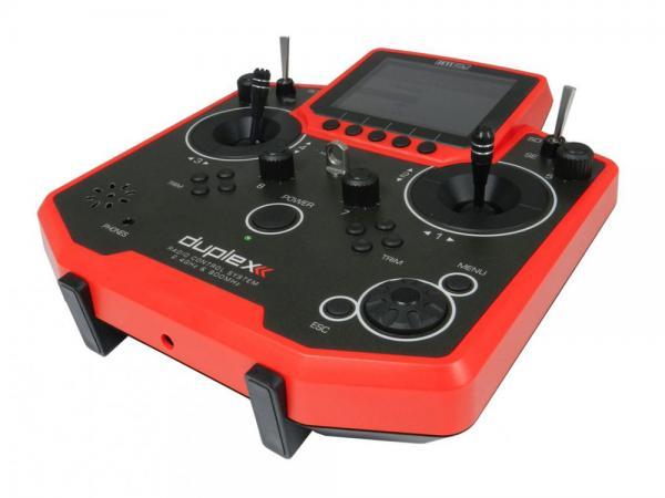 Jeti Hand-Sender DS-12 Multimode rot