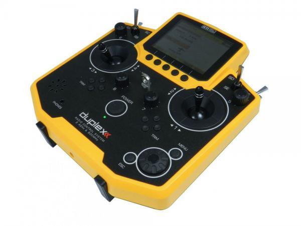 Jeti Hand-Sender DS-12 Multimode gelb