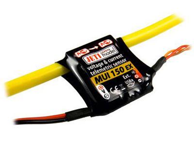 Jeti Spannungs und Stromsensor zu Duplex System MUI150-EX