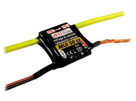 Jeti Spannungs und Stromsensor zu Duplex System MUI50-EX