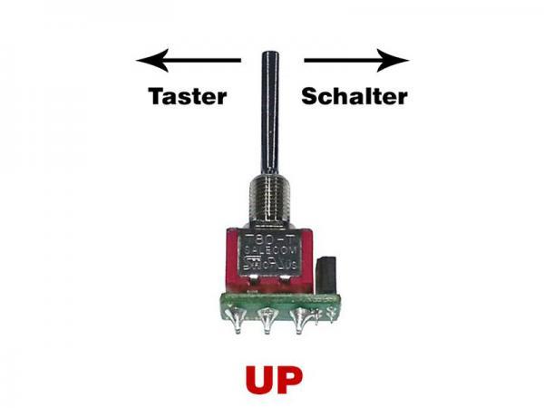 Jeti Tast-Schalter lang UP für Jeti Handsender