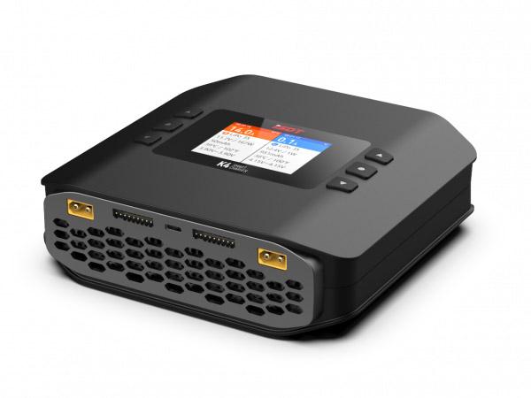 ISDT K4 DUO Ladegerät LiPo 1-8S AC 400W / DC 2x 600W