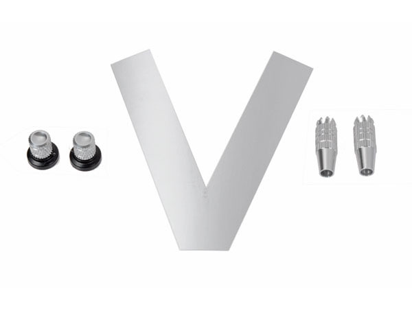 Mikado VBar Control Knüppel/Drehknopf-Set Chrom-glänzend