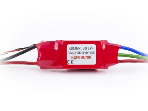 Kontronik Brushless Regler KOLIBRI 60 LV-I