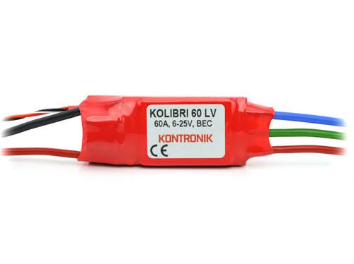 Kontronik Brushless Regler KOLIBRI 60 LV # 4320