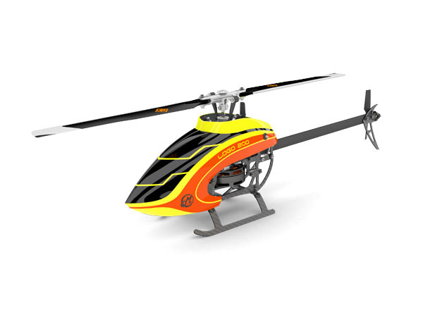 Mikado LOGO 200 Bind&Fly Super Combo gelb/orange