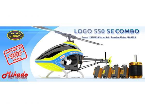 Mikado LOGO 550 SE V2 Combo