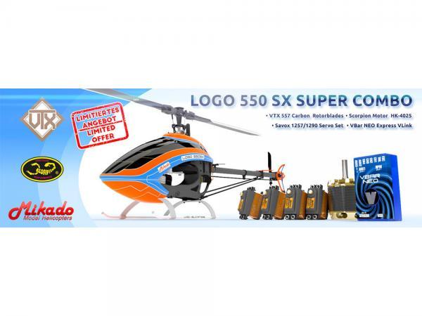 Mikado LOGO 550 SX Super Combo # 05330