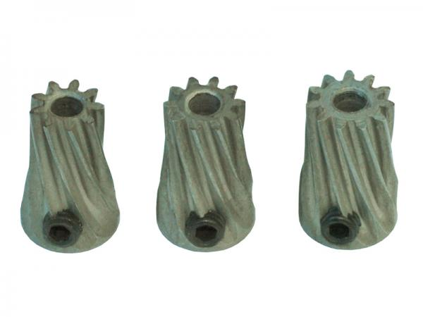 LYNX Ritzel schrägverzahnt 9 Zähne/10 Zähne/11 Zähne Modul 0.5