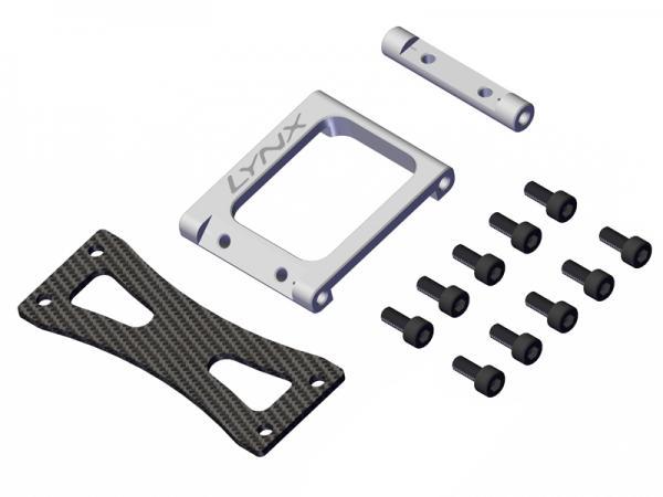 LYNX GOBLIN 500/570 Alu Heckverbinder Upgrade - silber