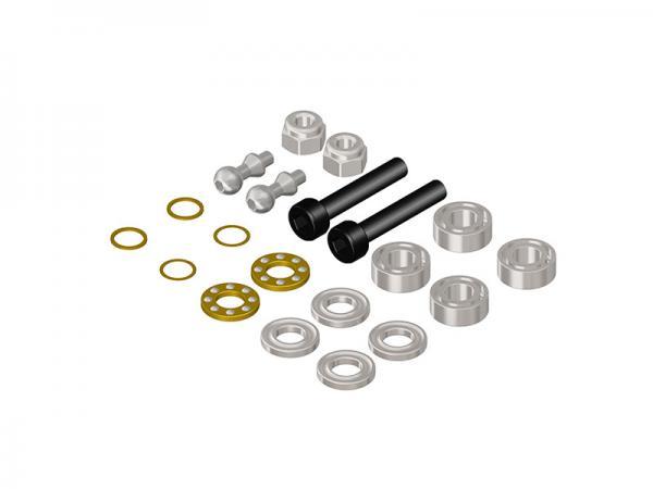 LYNX Blade 450X Schrauben- und Lagerset für Alu Rotorblatthalter