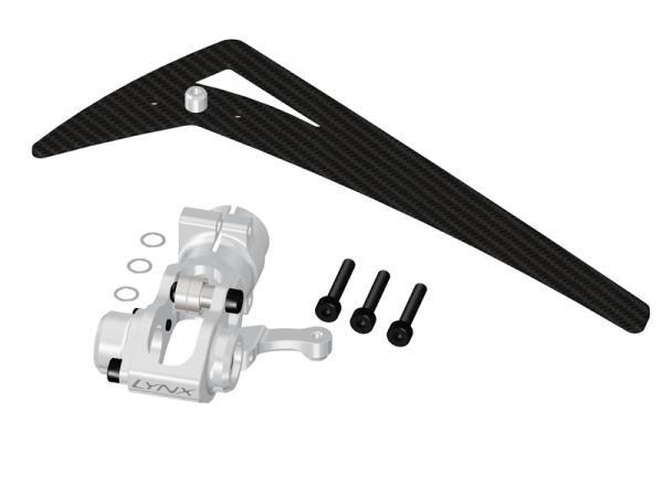 LYNX Blade 300X/CFX Alu Heckrotorgehäuse und Carbon Leitwerk