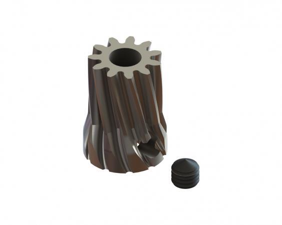 LYNX Ritzel schrägverzahnt 11 Zähne Modul 0.6 X 3.50 mm Welle