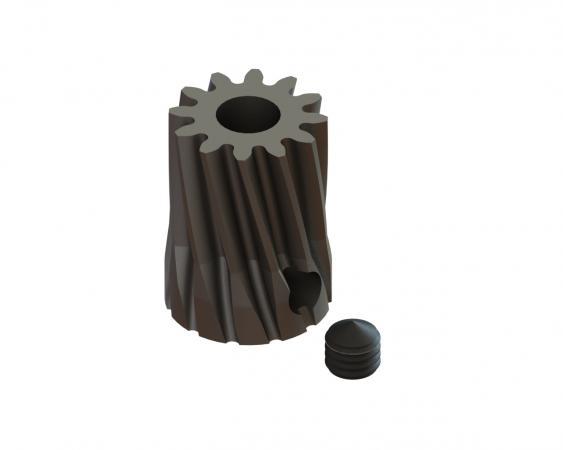 LYNX Ritzel schrägverzahnt 12 Zähne Modul 0.6 X 3.50 mm Welle
