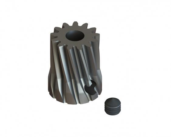 LYNX Ritzel schrägverzahnt 13 Zähne Modul 0.6 X 3.50 mm Welle