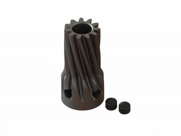 LYNX Ritzel schrägverzahnt 11 Zähne Modul 0.7 X 5 mm Welle