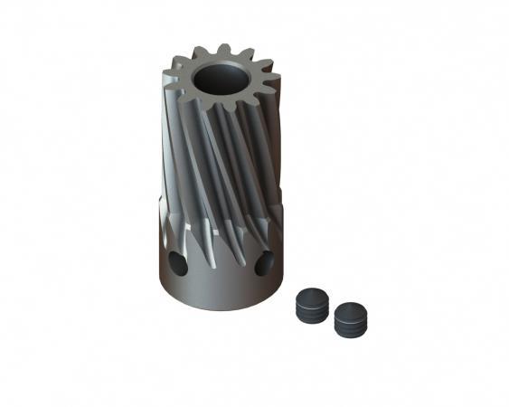 LYNX Ritzel schrägverzahnt 13 Zähne Modul 0.7 X 5 mm Welle