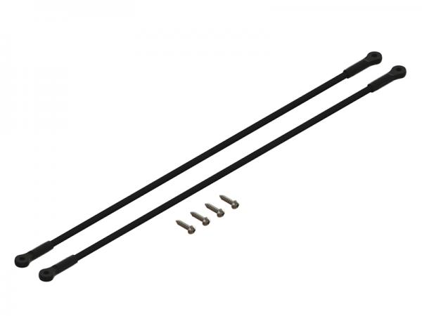 LYNX Blade 180 CFX Heckabstrebungen - schwarz