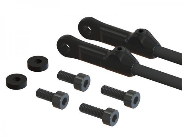 LYNX T-REX 450L Heckabstrebungsverbinder - schwarz