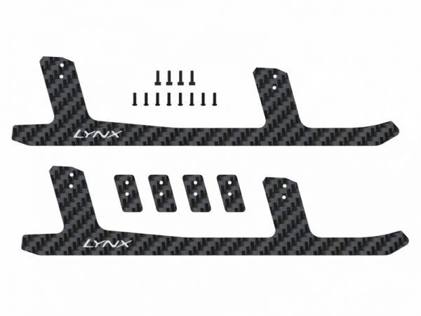 LYNX T-REX 550E / 600E Landekufen Carbon