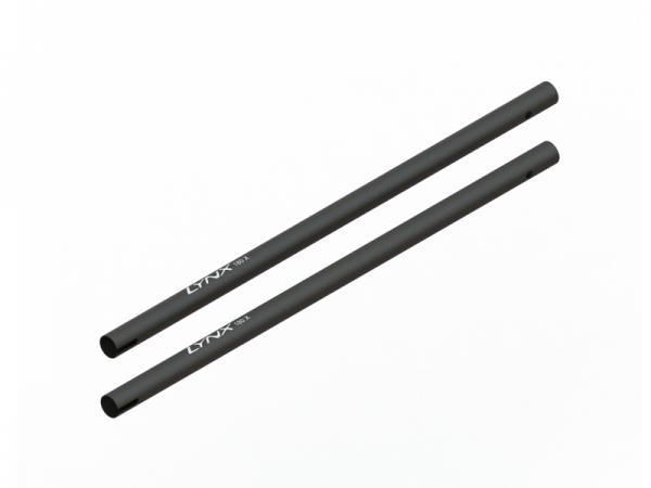 LYNX Blade 180 CFX Heckrohr - schwarz (2 Stück)